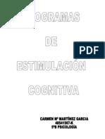 Programa de EstimulaciÓn Cognitiva Para Personas Mayores