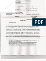 Complaint Against Elmwood Park BOE, William Moffitt, And Richard D. Tomko Filed in NJ Superior Court for Violation of OPEN PUBLIC MEETINGS ACT and OPEN PUBLIC RECORDS ACT