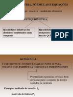 Rossano - 1 - Aula 3 Fórmulas e Equações