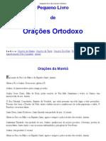Pequeno Livro de Oracoes Ortodoxo