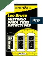 (1936) Misterio Para Tres Detectives
