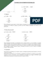 08 - Operaciones con números decimales