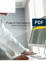 Pulse of the Industry- Medical Technology Report 2011