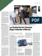 La Ciudad de Las Ciencias Llega Rodando a Murcia