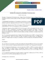 CONTAGEM RECÍPROCA - INSTRUÇÃO NORMATIVA INSS_PRES Nº 50 DE 04.01