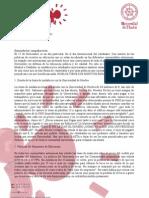 Documento explicativo con toda las motivaciones para la #Huelga17N.