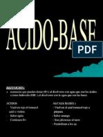 +Acido Base