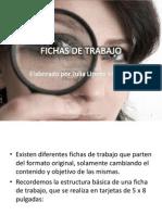 FICHAS DE TRABAJO