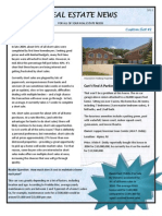 Newsletter Sample - How to Customize PDF
