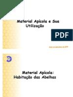 Apicultura - Materiais