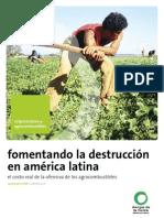Fomentando la destrucción en américa latina