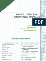 Banke u Srbiji na društvenim mrežama