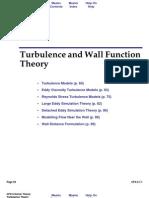 Turbulence and Near Wall Theory