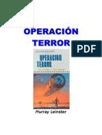 Leinster, Murray - Operacion Terror