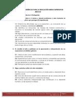 COMPETENCIAS GEN+ëRICAS PARA LA EDUCACI+ôN MEDIA SUPERIOR DE M+ëXICO