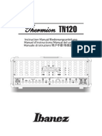 Ibanez Thermion Tube Amplifier TN120 Schematic
