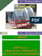 4º Clase de Ventilación, Unidad I Cap 5 y 6
