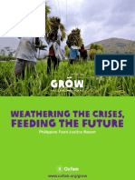 OXFAM Weathering the Crises, Feeding the Future