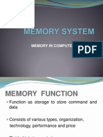 MICROPROCESSOR SYSTEM-MEMORY