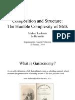 Milk Experimental