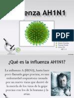 Influenza AH1N1 PowerPointDiapositivas