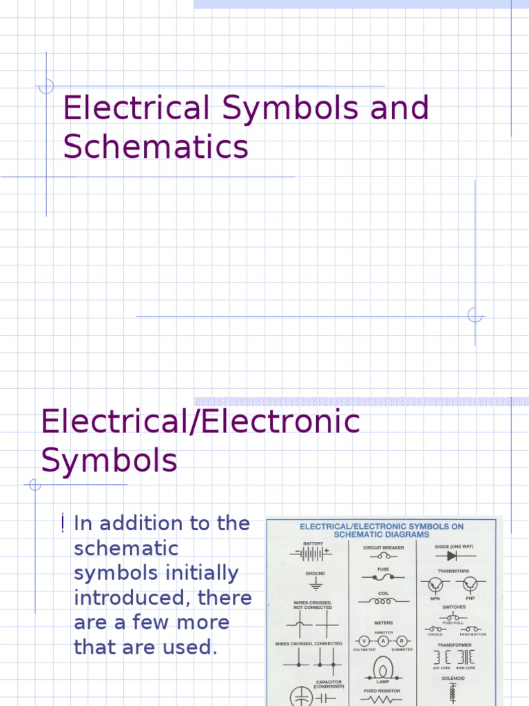 Electrical Symbols and Schematics | Fuse (Electrical) | Voltage