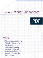 Major Wiring Components