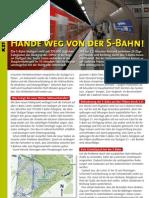 S-Bahn-Faltblatt