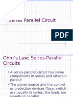 Ohm's Law Series Parallel Circuit