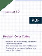 Resistor I.D