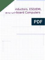 Semiconductors, ESD