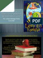 Informe cia de La Familia en El Proceso de La Lectoescritura