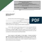 Formato de Acreditacion de Becas Para Escuelas Particulares