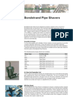 Bond Strand Pipe Shavers