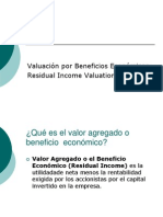 Residual Income Valuation (Spanish)