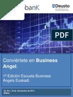 Escuela Business Angels Universidad de Deusto