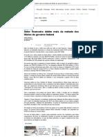 Setor financeiro detém mais da metade dos títulos do governo federal - 13_11_2011 - UOL Economia - Da Redação