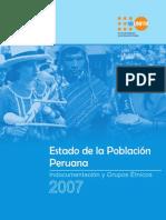Estado de la población peruana 2007