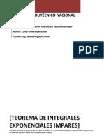 INTEGRALES DE POTENCIAS TRIGONOMÉTRICAS IMPARES Y PARES 1