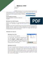 Sistema Operativo Windows 2010