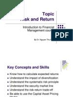C6 Investment Criteria Risk&Return
