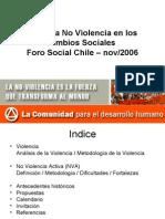 No Violencia Activa en Los Cambios Sociales