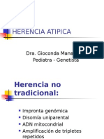 Herencia Atipica
