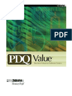 PDQ Value Users Manual