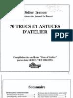 70 Trucs Et Astuces d Atelier Ternon