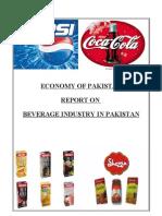 Beverage Industry in Pakistan
