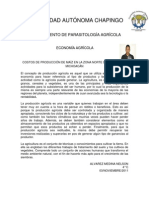 NELSON ALVAREZ COSTOS DE PRODUCCIÓN DE MAÍZ