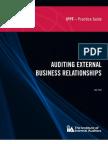 Auditng External Business Relationships