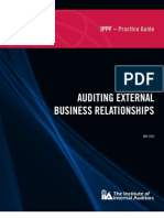 Auditng External Business Relationships