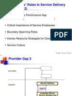 Employee's role in Service MArketing